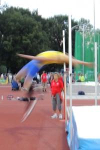 Geslaagde sprong Sven van Merode