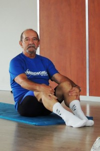 Conny Arnouts met core stability