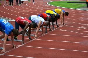 Wislet de Hair komt tot 1/2 finale 100m