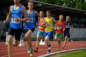 Koen van Duijnhoven 25e 800 in 2:12.44