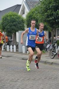 Colin Bekers won de 10 km. in zijn nieuwe woonplaats Teteringen