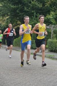 Karsten Nefs liep in Teteringen een sterke 5 km