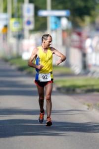 Jan Muller tijdens NK 100 km in 2012