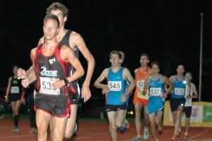 Melvin Franken bleef in Utrecht slechts 1/2 tel van zijn 5.000 m. PR!