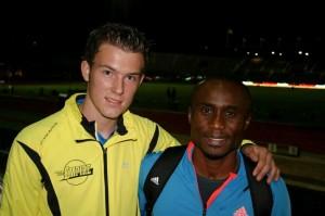 20130831 Amsterdam Open: Bart Hondeveld en Ignisious Gaisah