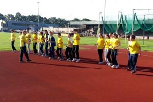 Warming-up Junioren clubkampioenschappen 2013