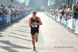 Mike Teekens 12e NK 1/2 marathon 2014