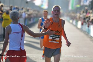 Kees Lazeroms 1e M45 NK 1/2 marathon 2014