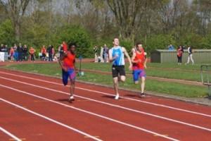 100 meter Bart Hondeveld
