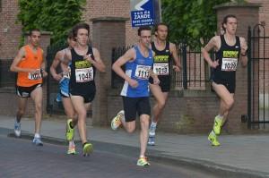 Colin Bekers op weg naar zege in Waalwijk