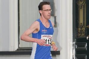 Colin Bekers tijdens de Liberty Run 2014