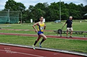 Wouter Warndorff liep met 3:58.89 een sterkte sub4