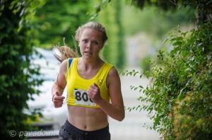 Lotte Verlaar 2e op 1.440 m.