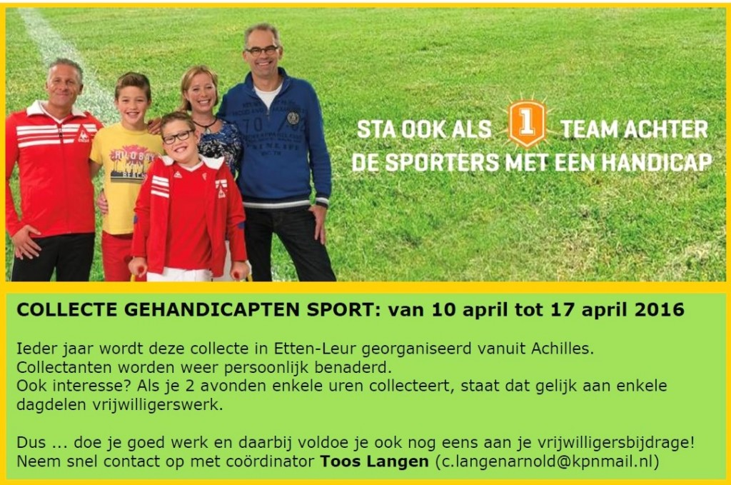 CollecteGehandicaptensport2016